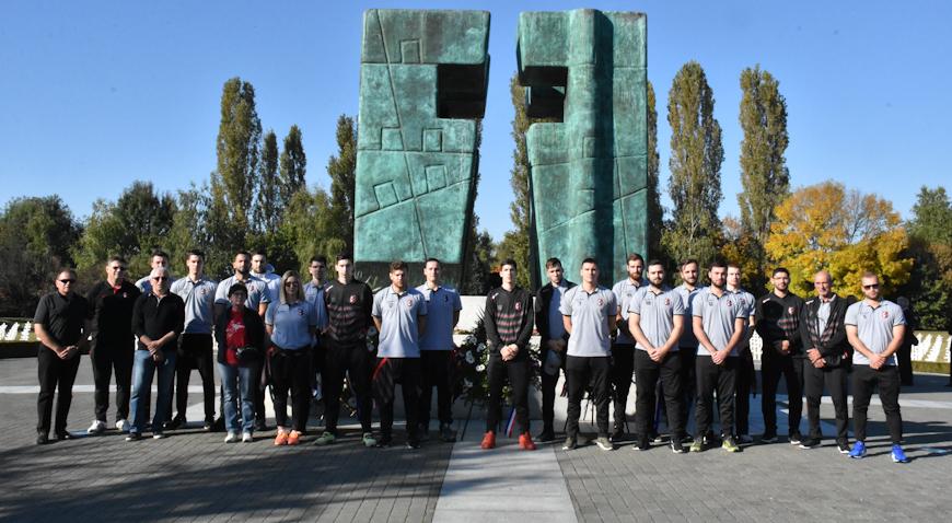 FOTO: Rukometaši Gorice poklonili se vukovarskim žrtvama