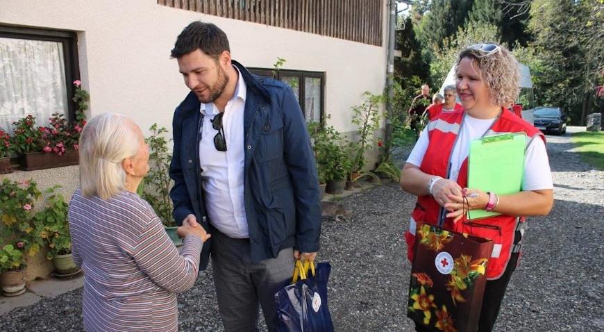Općina Križ darivala osobe starije od 90 godina