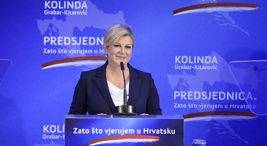 Kolinda Grabar-Kitarović i službeno istaknula kandidaturu za predsjednicu