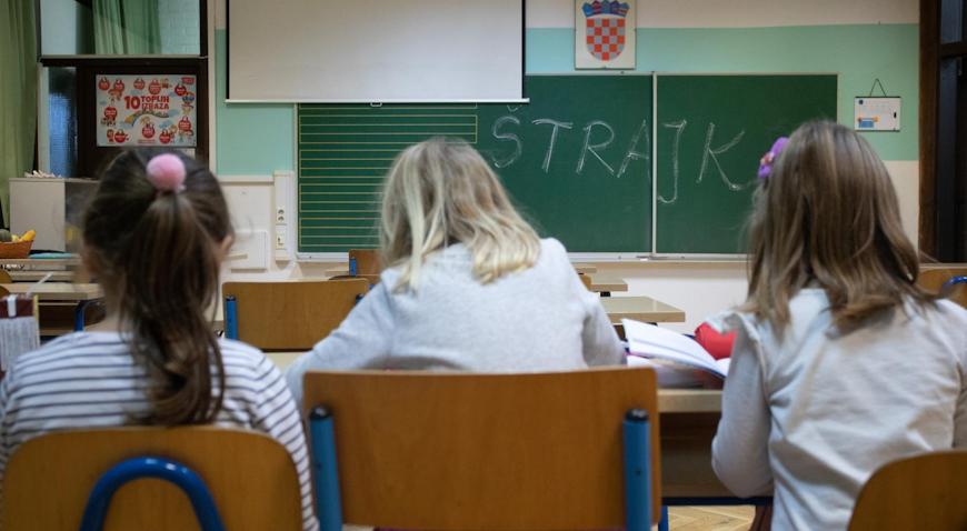 Započeo štrajk u osnovnim i srednjim školama