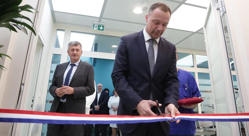 Obnovom dnevne bolnice osigurani viši standardi liječenja bolesti probavnog sustava u KB Dubrava