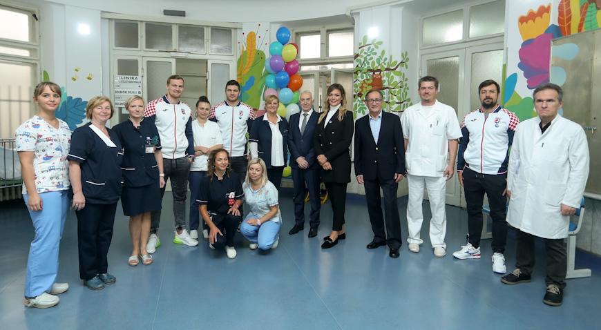 INA uručila donaciju od 100 tisuća kuna Klinici za dječje bolesti