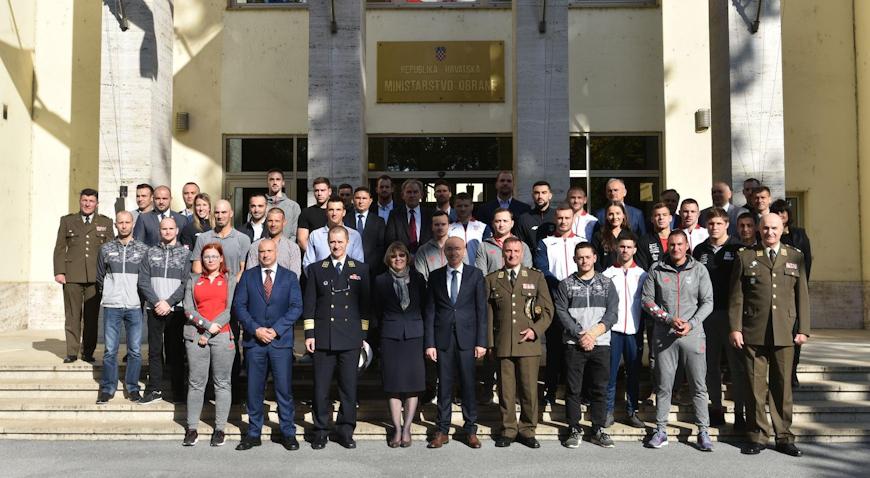 VIDEO/ Vrhunski sportaši poručili: Ponosni smo što možemo promovirati Hrvatsku vojsku