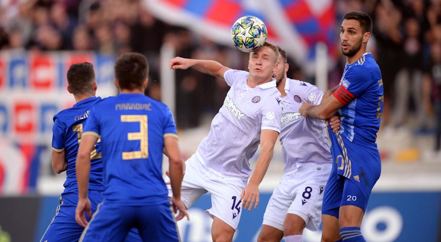 Bez pogodaka u susretu Lokomotive i Hajduka
