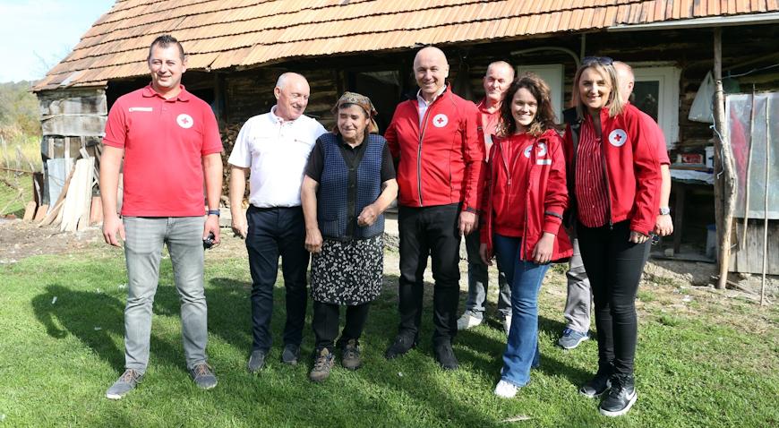 VIDEO: U Topuskom predstavljen projekt obnove kuća starih i nemoćnih stanovnika