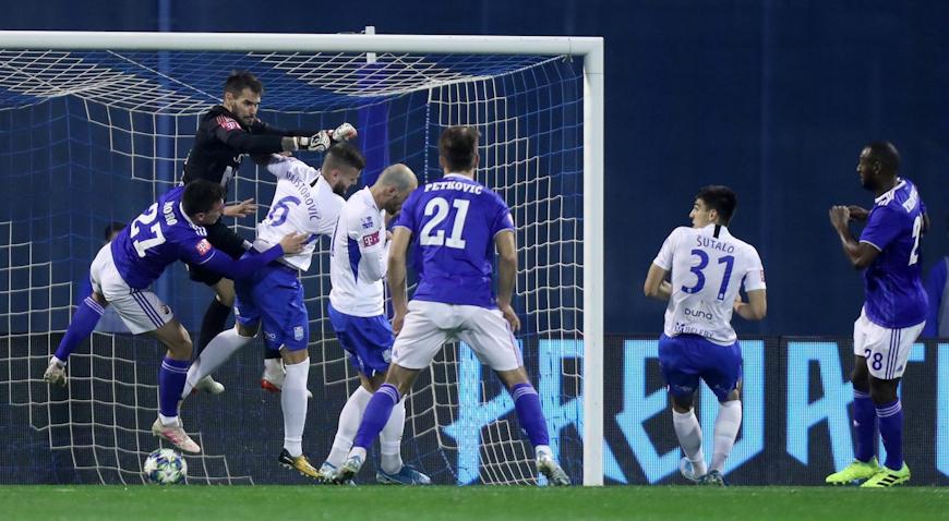 Dinamo zgoditkom Kadziora svladao Osijek