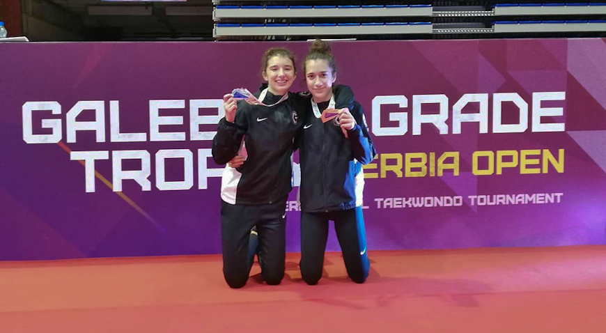 Sara Anđelić i Sara Habijančić osvojile Beograd
