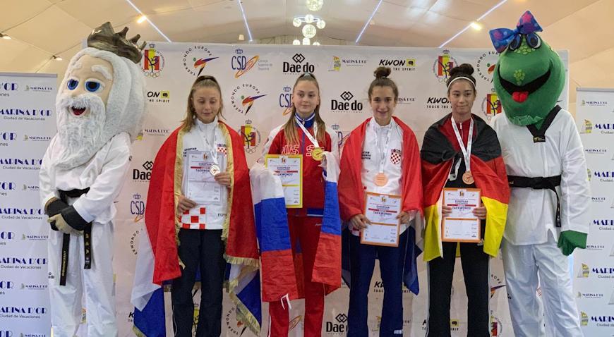 FOTO: Sara Anđelić brončana na Europskom prvenstvu
