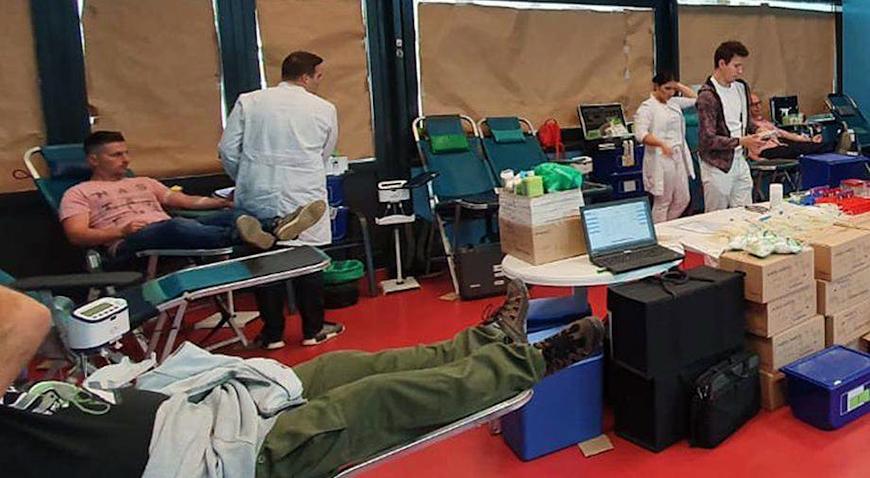 U Samoboru novih deset darivatelja krvi