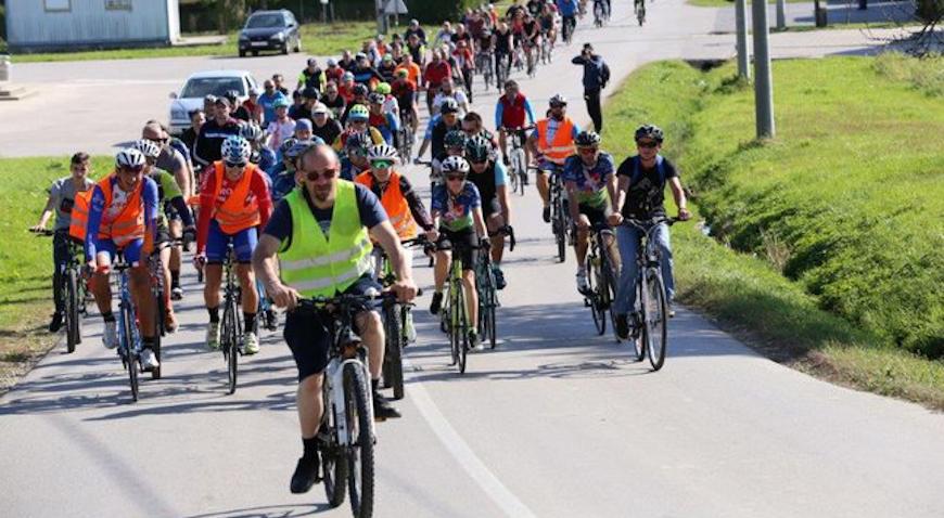 Biciklisti povezali Vrbovec i Sveti Ivan Zelinu