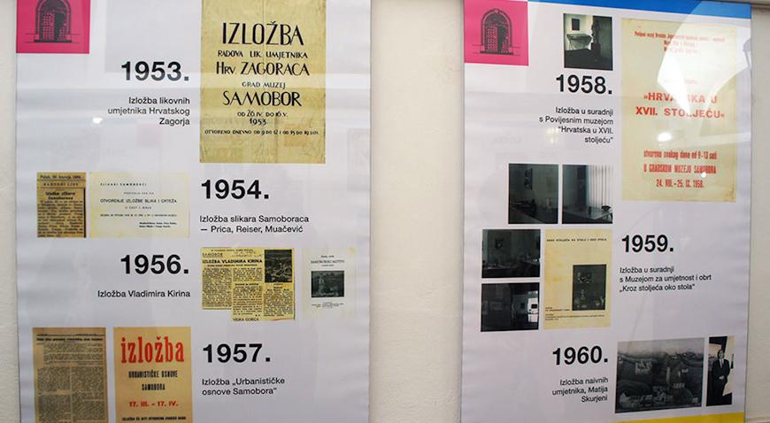 Samoborski muzej izložbom obilježio 70. godišnjicu osnutka