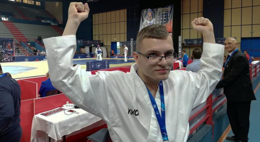 FOTO: Rugvičan Filip Cimaš viceprvak Europe u parataekwondou
