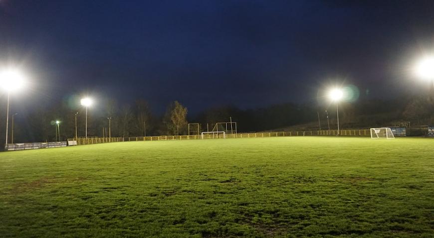FOTO: Igralište u Banovu dobilo rasvjetu