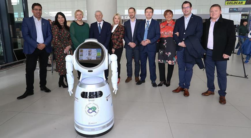 """Humanoidni robot """"Viktorija"""" novi je promotor turističke ponude Zagrebačke županije"""