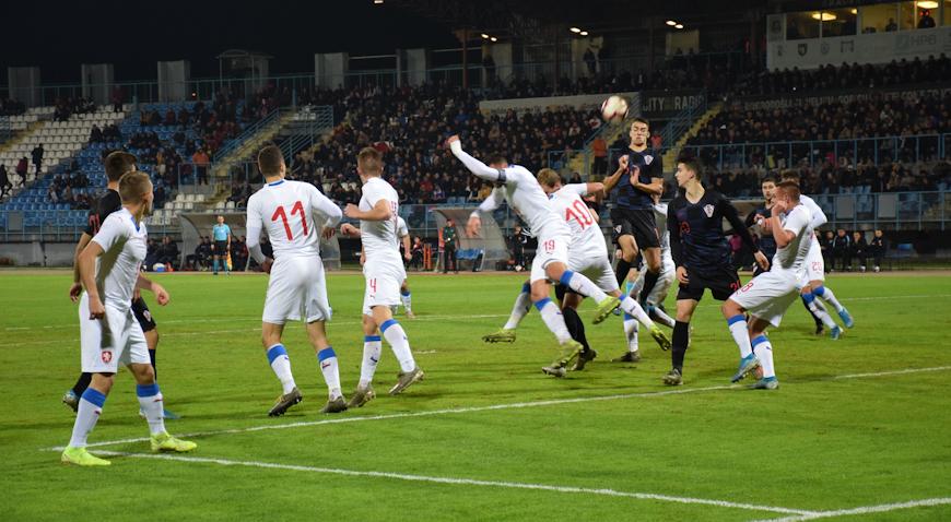 FOTO: Hrvatska U-21 reprezentacija izgubila od Češke