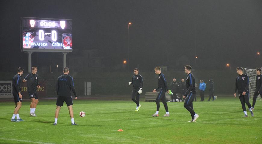 Mini Vatreni u Velikoj Gorici u ponedjeljak dočekuju Češku