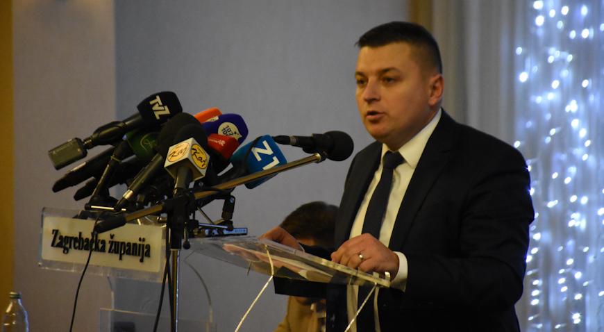 FOTO: Mato Čičak, novi predsjednik Skupštine Zagrebačke županije