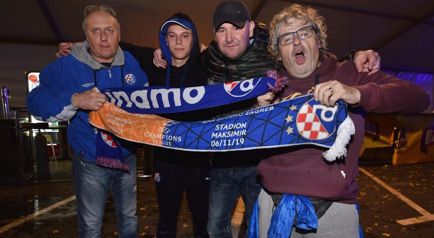 FOTO: Maksimir u iščekivanju utakmice jeseni