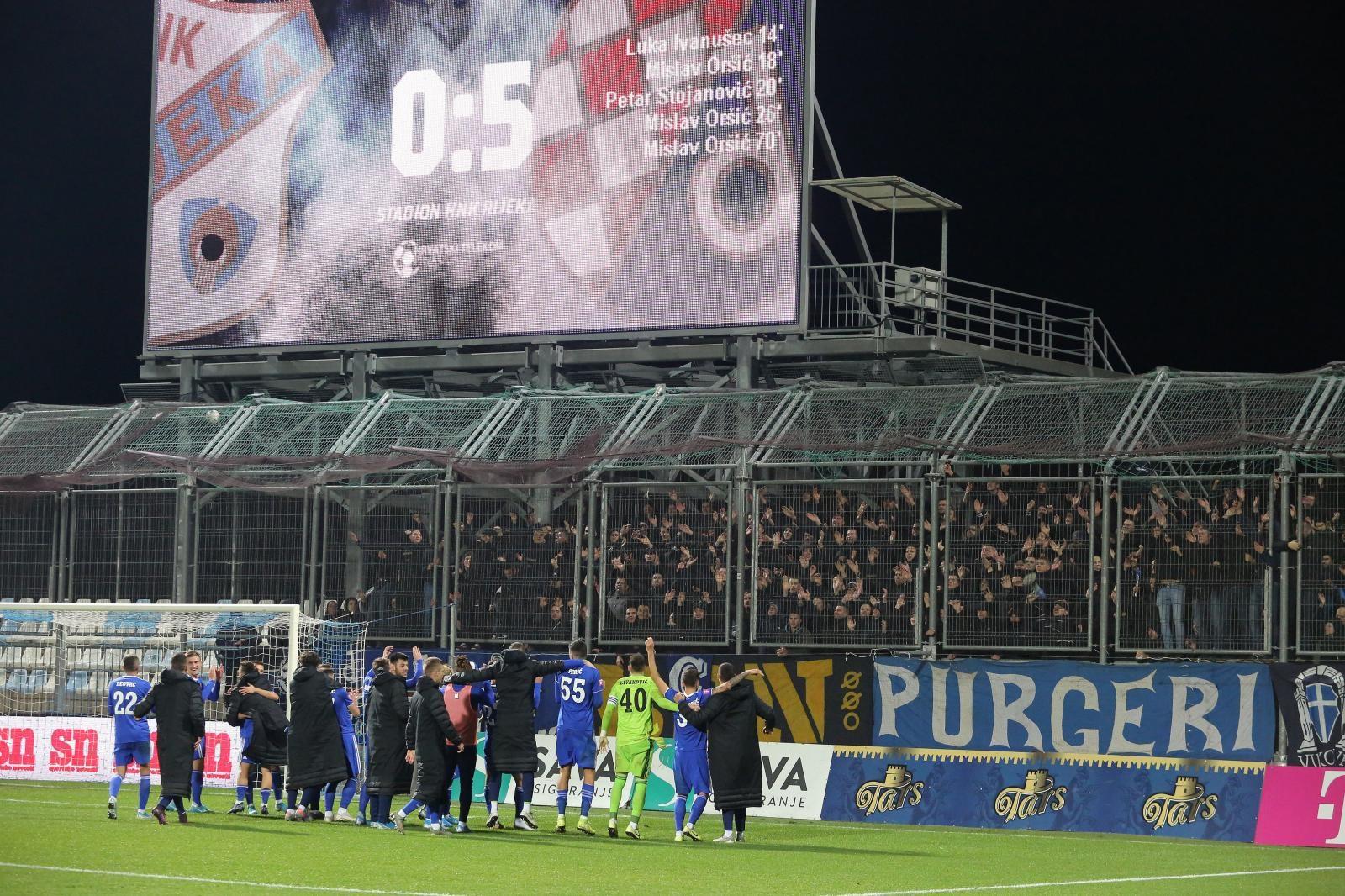 Dinamo pregazio Rijeku kao plitak potok