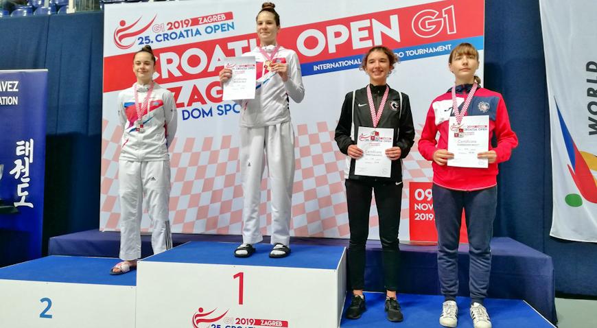 Sara Habijančić treća na Croatia openu