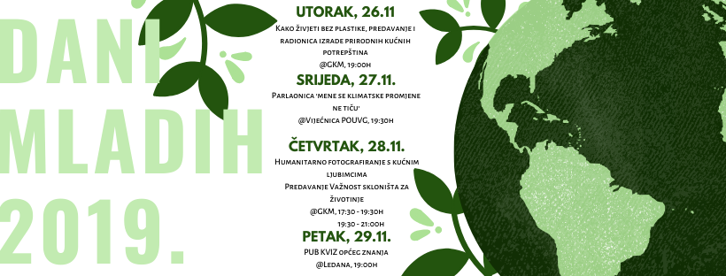 Sljedeći tjedan u Velikoj Gorici Dani mladih