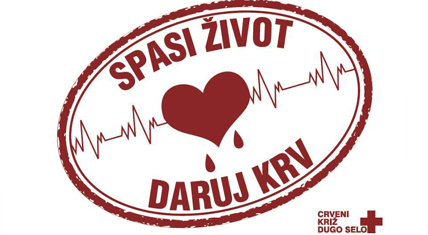 U ponedjeljak akcija darivanja krvi u Dugom Selu, u utorak u Rugvici