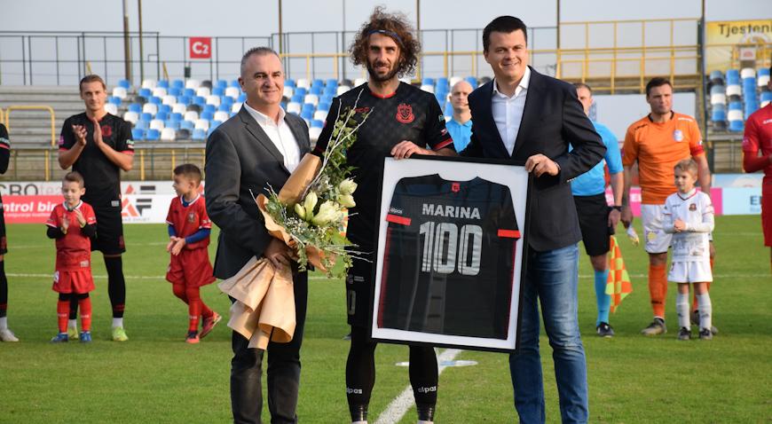 Mario Marina odradio 100-tu utakmicu u dresu Gorice