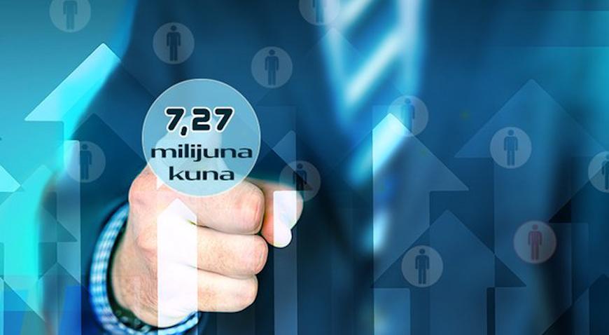 Županija poduzetnicima isplaćuje 7,27 milijuna kuna