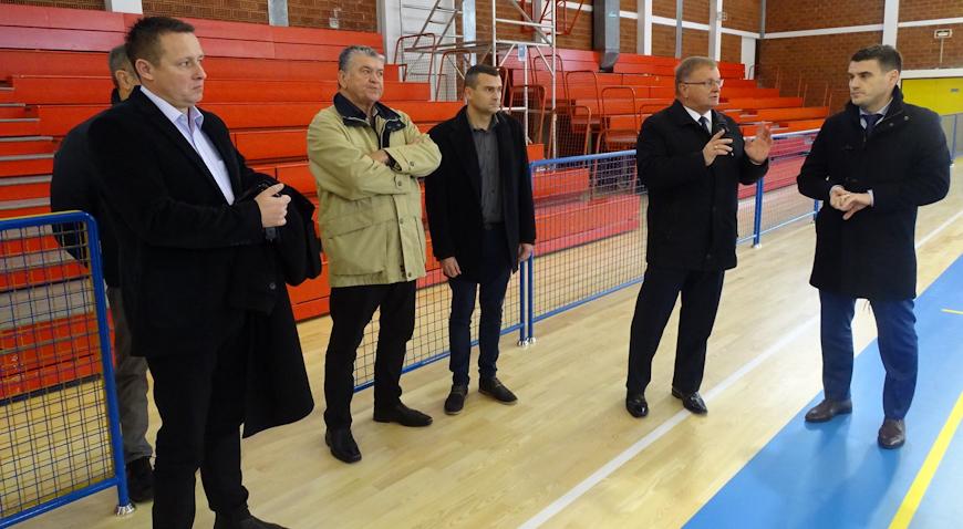 U Zaprešiću otvorena rekonstruirana sportska dvorana