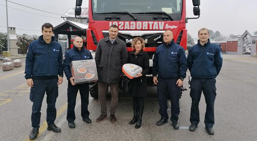 Svetonedeljski vatrogasci bogatiji za dva defibrilatora