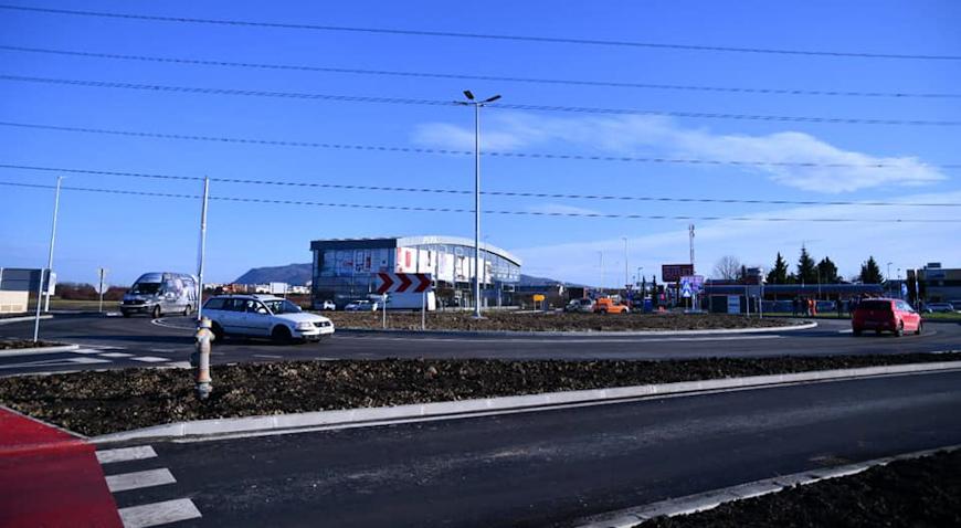 Kružni tok u Svetoj Nedelji otvoren za promet