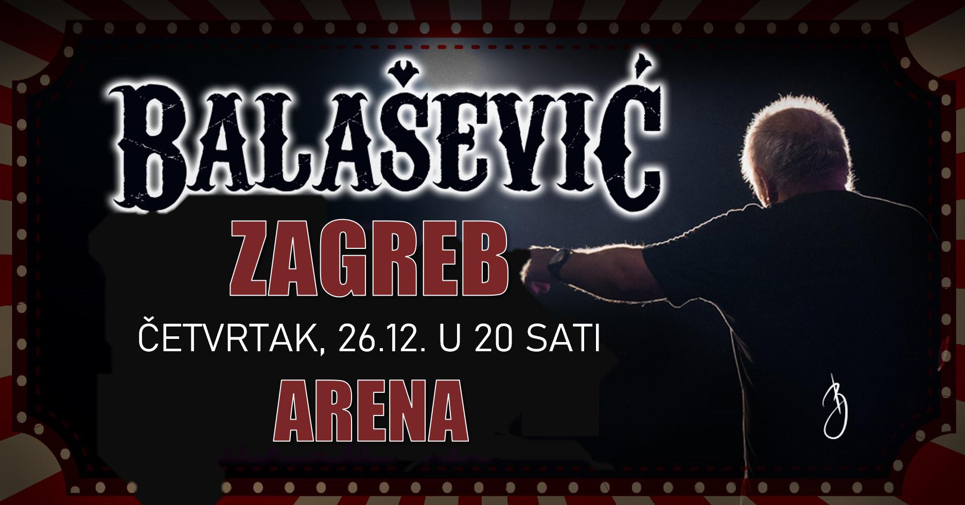 Još malo do koncerta Đorđe Balaševića u Areni Zagreb
