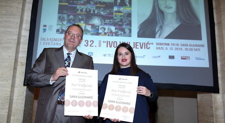 Sara Glojnarić proglašena mladom glazbenicom godine