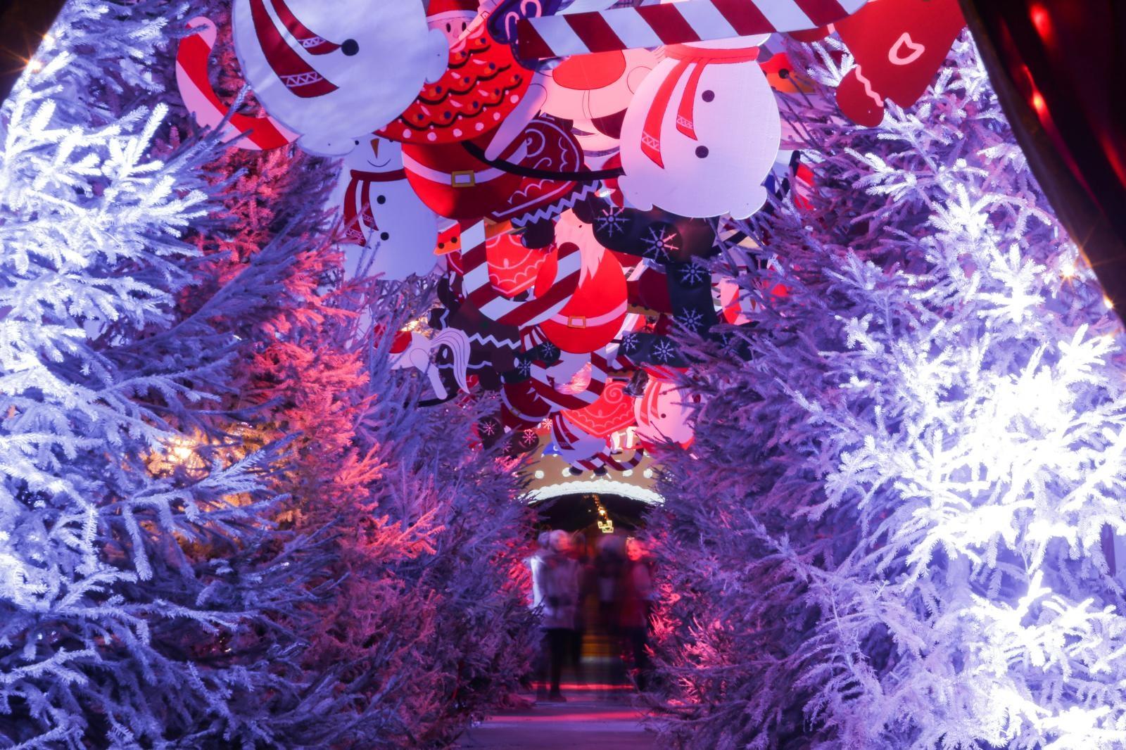 VIDEO: Tunel Grič i ove je godine jedna od top božićnih atrakcija