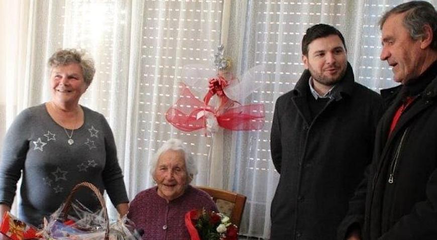 SRETAN ROĐENDAN – Marija Žertuš iz Obedišća proslavila 101. rođendan