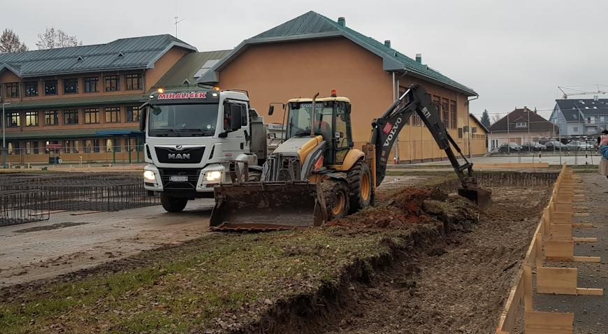 U Zaprešiću krenuli radovi na sportskoj dvorani OŠ Antuna Augustinčića