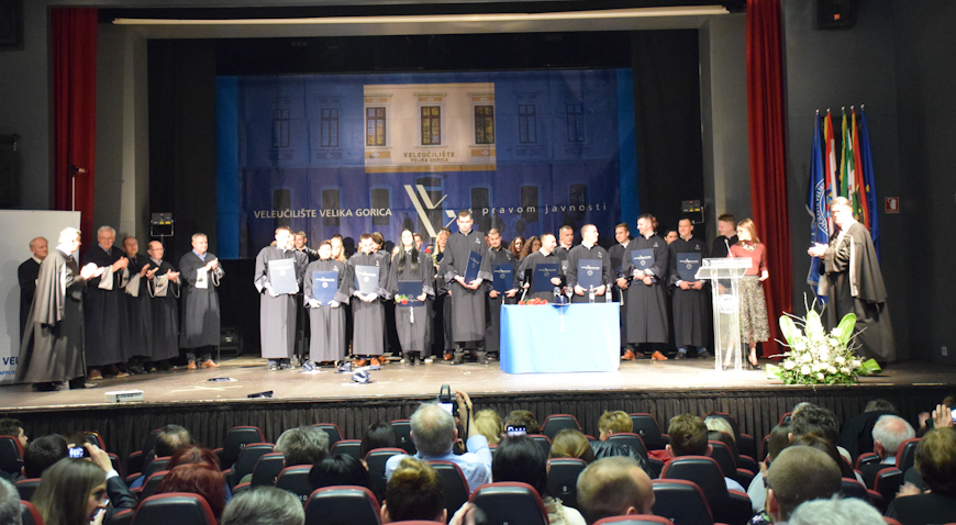 FOTO: Promovirano novih 150 studenata Veleučilišta Velika Gorica