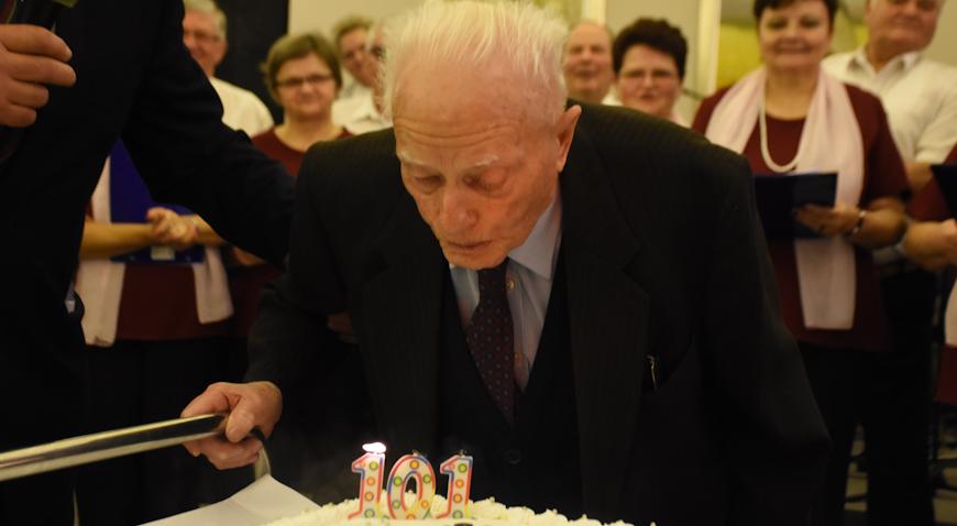FOTO: Josip Pisnjak velikom feštom proslavio 101. rođendan