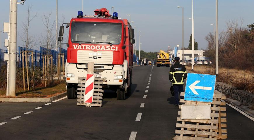U prometnoj nesreći na ulazu u JANAF poginula jedna osoba