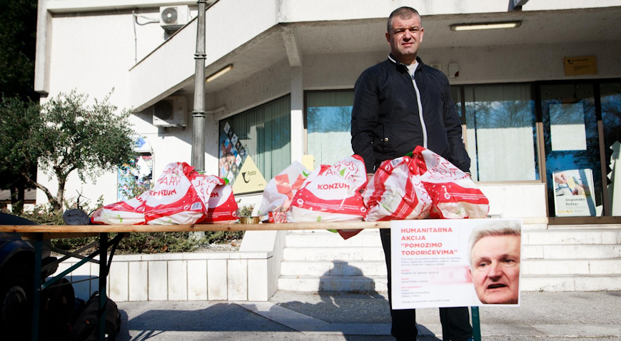 VIDEO: U Solinu prikupljali pomoć za Todoriće