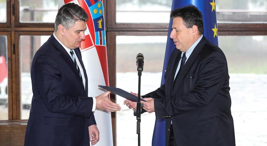 Novoizabrani predsjednik Milanović primio Izvješće o konačnim rezultatima izbora