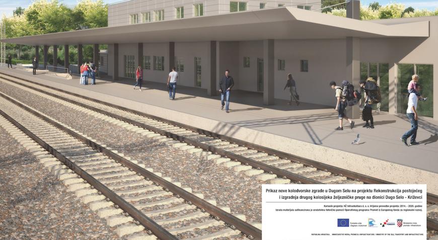Iz HŽ Infrastrukture za proljeće najavljuju rekonstrukciju zgrade dugoselskog željezničkog kolodvora